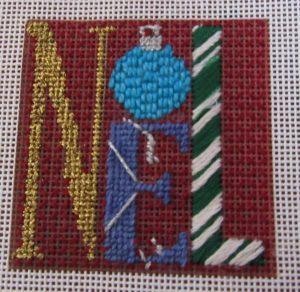 Winterthur Noel needlepoint