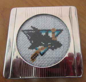 San Jose Sharks needlepoint