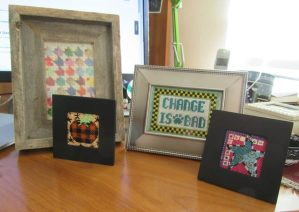 recently framed needlepoint picturespictures