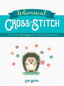 whimsical croos stitch book cover