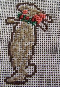 Tricia lowenfield needlepoint nativity rabbit