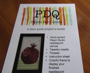 pippin quick needlepoint kit