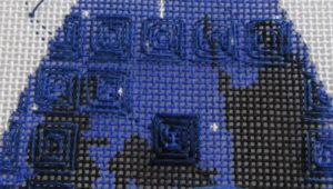 rectangular swirl needlepoint stitch