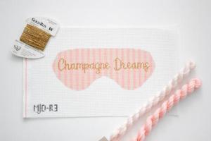 Morgan Julia champagne needlepoint