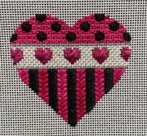 Rhodes Stitch Heart