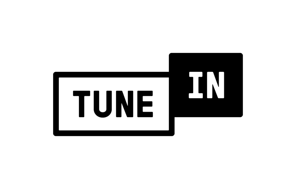 This image has an empty alt attribute; its file name is TuneIn_Logo_Black-1024x656.png