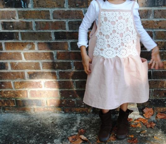 Linen camisole dress