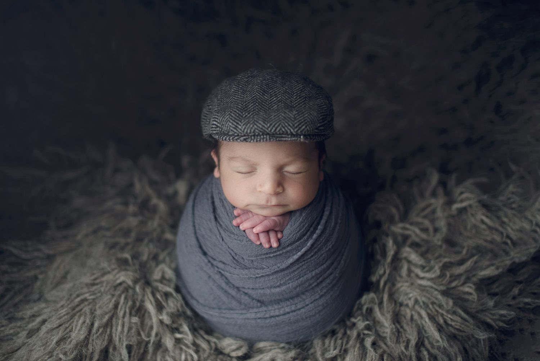 Newborn Potato Sack Pose