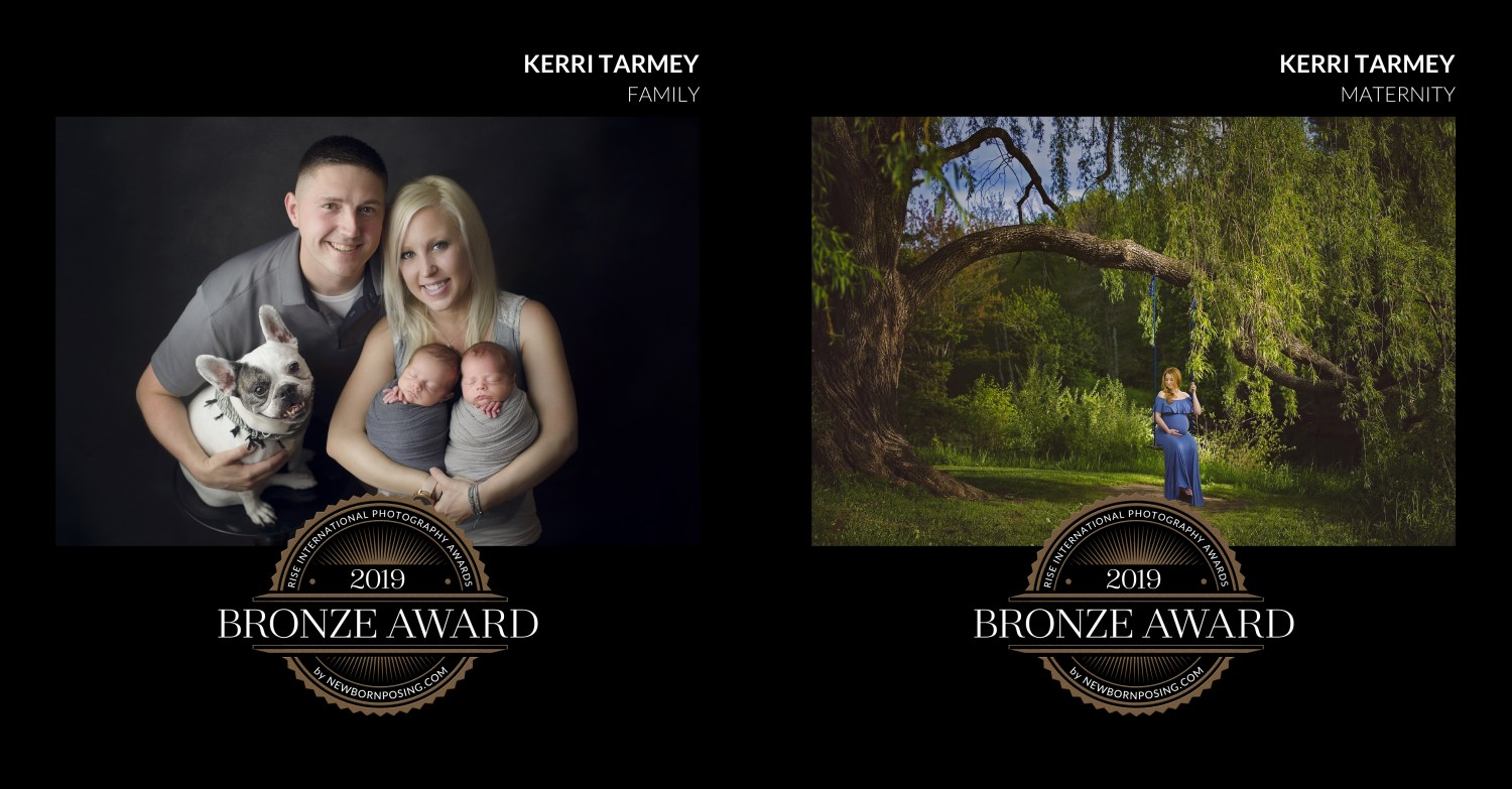 Award winning newborn and maternity photos