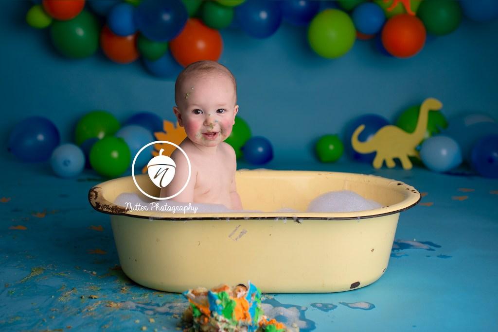 Bubble bath splash
