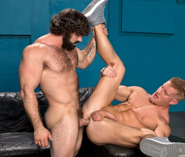 Hairy Muscle Hunk Jaxton Wheeler Fucking A Muscle Jock