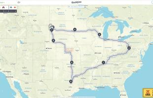 2017 Road Trip Destination & Itinerary