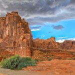 Hiking in Arches National Park, Utah