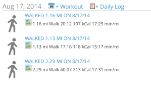 August 17 2014 Hikes