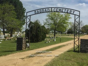 Bagdad Cemetery in Leander Texas was a filming location for the original Texas Chainsaw Massacre