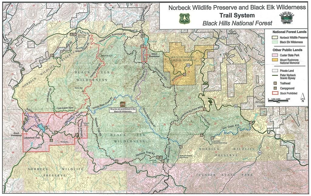Black Elk Wilderness Trail System