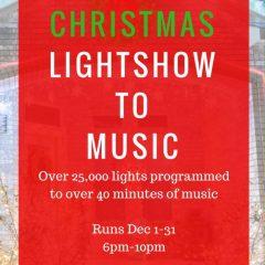 2016 Christmas Light Show to Music | Harker Heights / Fort Hood, Texas