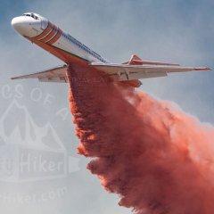 Dana Peak Park catches fire