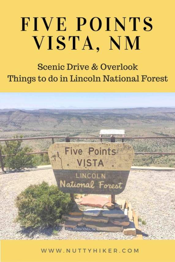 Five Points Vista in New Mexico is a scenic drive you don't want to miss.