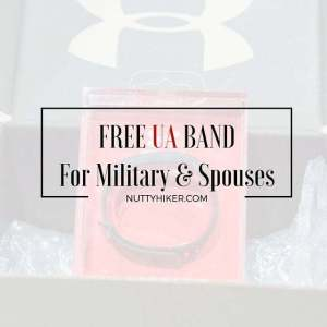 Free UA Band for military and spouses