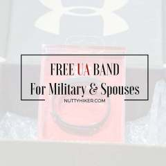 Free UA Band For Military & Spouses