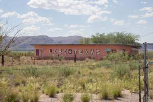 Texas Ghost Towns: Lobo, Texas in West Texas is a small ghost town that was abandoned in the early 90's