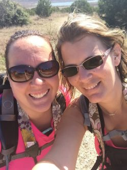 Hiking with my BFF at Dana Peak Park