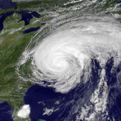 Made it to Fort Lee & Hurricane Irene