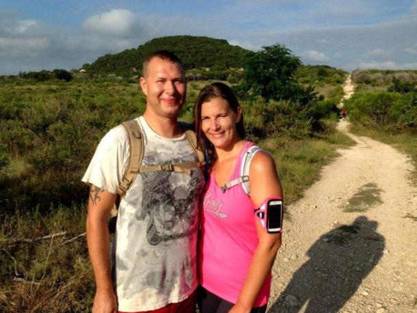 KCEN News coverage of our story of hiking 1000 miles for the deployed soldiers of 3cr rss at fort hood texas