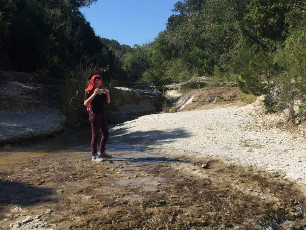Hiking with teens