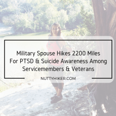 Why I'm hiking 2200 miles in 2017