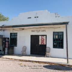 The Ghost Town of Salt Flat, Texas