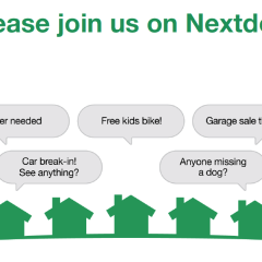 Using your Nextdoor Community to meet new friends