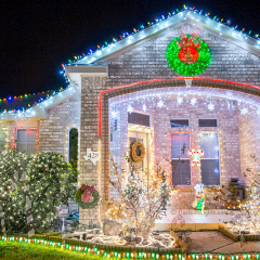 2015 Christmas Light Show – Harker Heights / Fort Hood