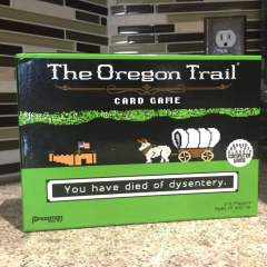 Keep your Pokemon, I have The Oregon Trail