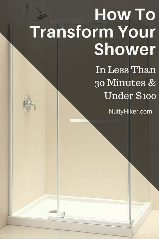 How to transform your glass shower in less than 30 minutes and under $100