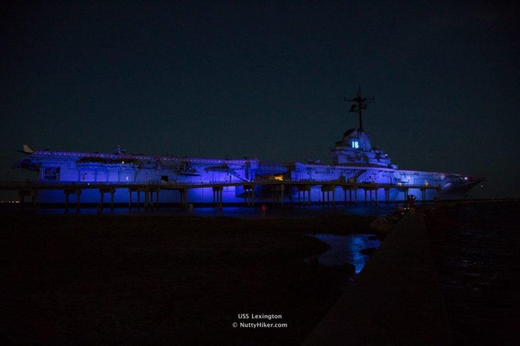 USS Lexington Corpus Christi Texas aka The Blue Ghost