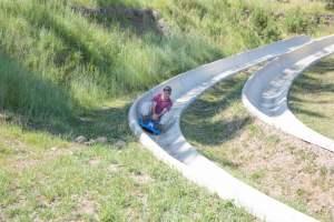 Alpine Slide, Keystone, South Dakota