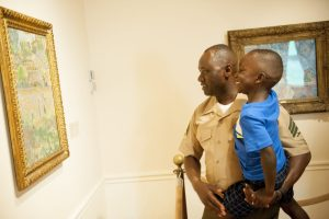 Museums offer active military and their families free admission