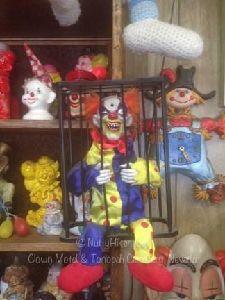 Clown Motel Tonopah Cemetery Nevada