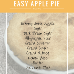 Simply Easy Apple Pie