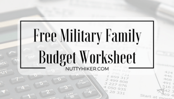 Printables Army Budget Worksheet free budget worksheet make your money work for you nutty hiker military family free