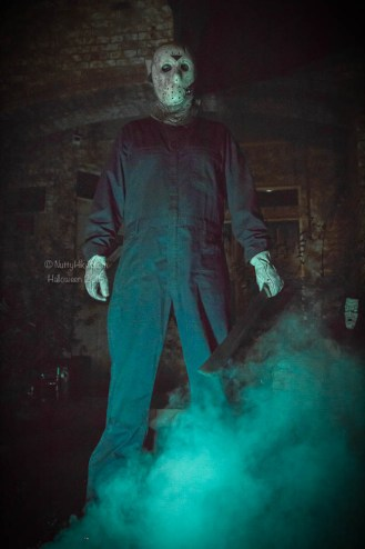Friday the 13th Halloween themed house