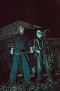 Friday the 13th Halloween Theme House