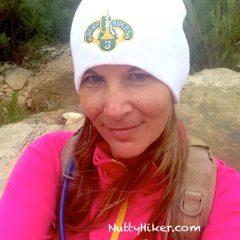 Hiking In Texas; wear a beanie when it drops below 70