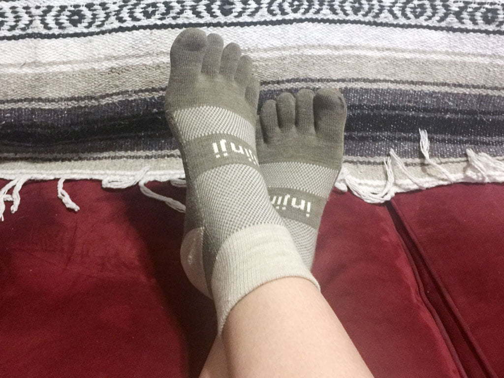 Injinji Socks - My test of the Injnji Midweight Mini Crew