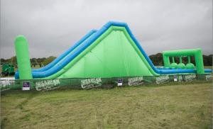 Insane Inflatable 5K Temple Texas 2016