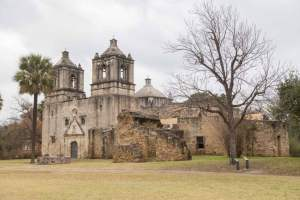 Mission Concepcion in San Antonio Texas