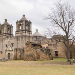 Mission Concepcion in San Antonio Texas | The Oldest Original Stone Church in the U.S.