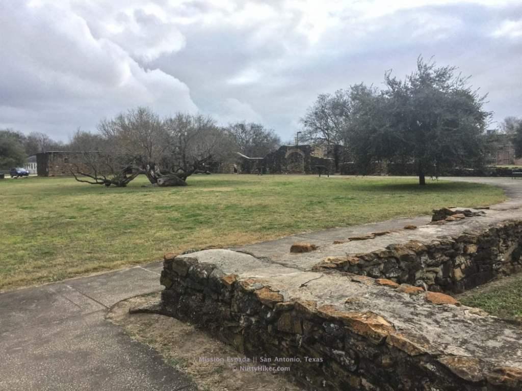 Mission Espada in San Antonio Texas